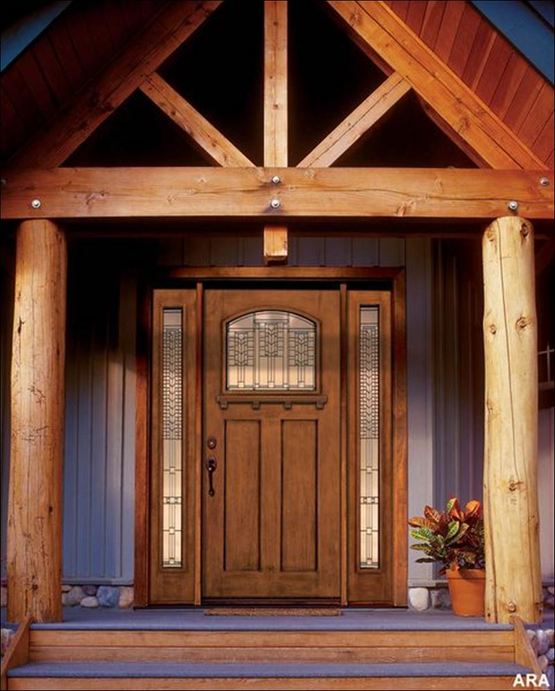 Wake up a tired front entry with a new front door toledo for Exterior house doors