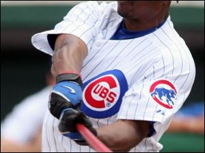 Outfielder Jacque Jones hit .285 with 33 doubles and five home runs and 66 RBIs in 135 games last season for the Cubs.