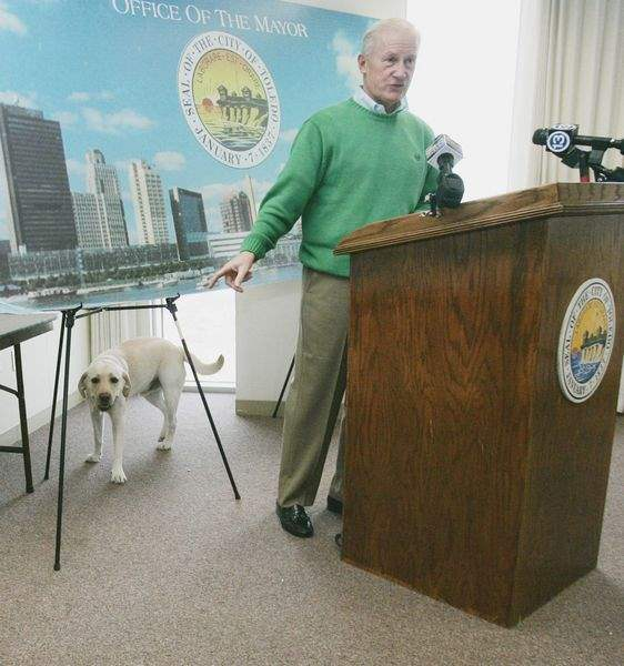 Toledo-s-First-Dog-gets-second-chance