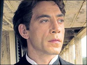 Javier Bardem in Love in The Time of Cholera. He also stars in No Country for Old Men.