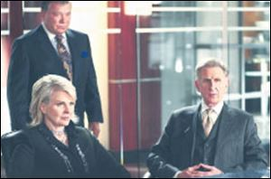 From left: Rene Auberjonois (at right) in Boston Legal