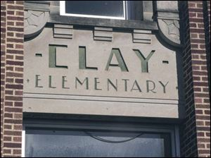 Clay Elementary will be among the sites torn down Feb. 1.