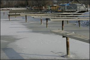 A study of western Lake Erie warns that Lake Erie could drop