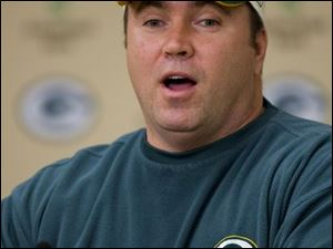 Packers coach Mike McCarthy convinced Brett Favre to be a little more conservative.