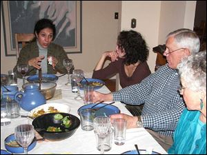 Common Tables, based in Denver, matches people of different faiths for four dinners i