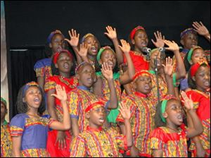 The Watoto Children's Choir will perform 10 concerts in an eight-day tour of the area.