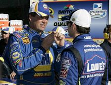 Michael-Waltrip-Jimmie-Johnson
