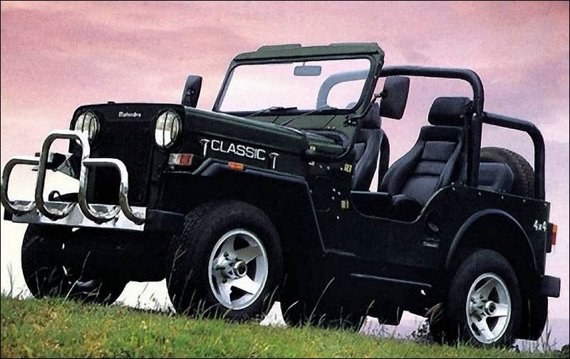 Mahindra & Mahindra's first vehicle was a licensed version of a Jeep