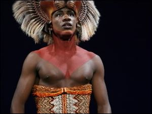 Dashaun Young as Simba in 'Endless Night.'