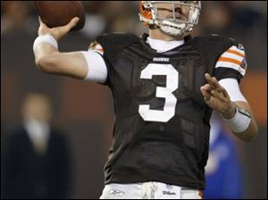 If another team signs restricted free agent Derek Anderson, the Browns would get first and third-round draft choices.