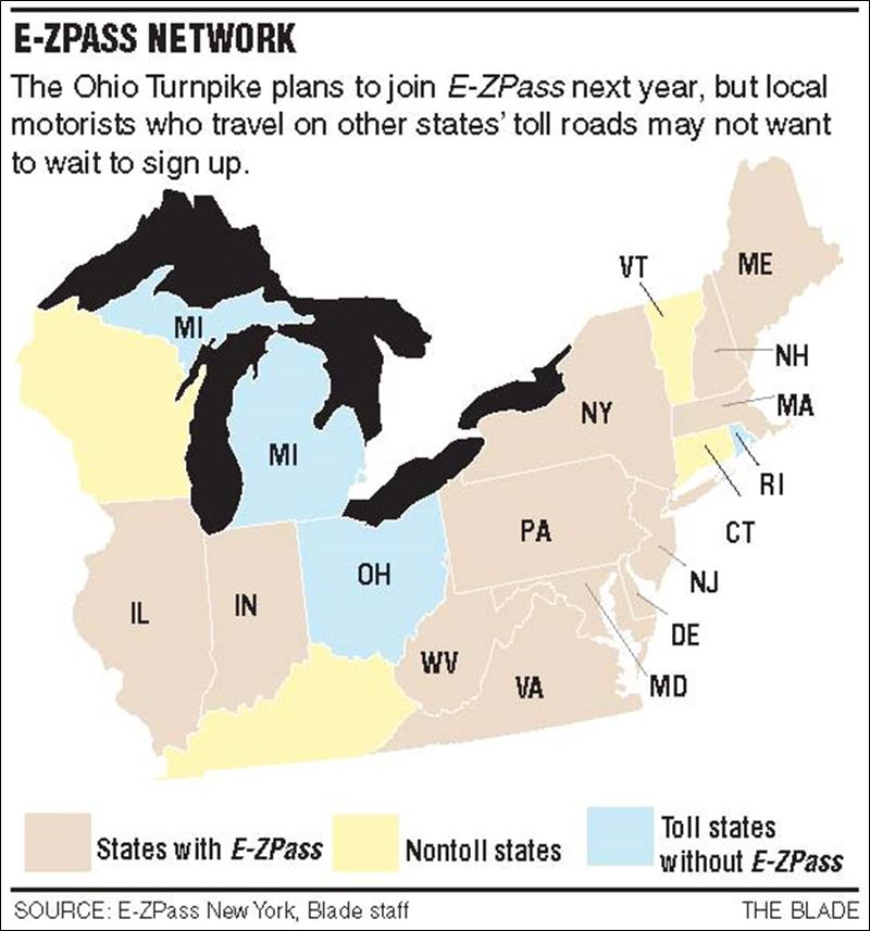 Some drivers ahead of E-ZPass curve - Toledo Blade