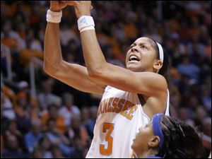 Tennessee's Candace Parker will try to lead the Volunteers to a second straight national title.