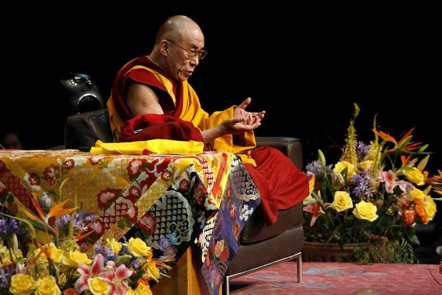 Dalai-Lama-talks-religion-not-politics