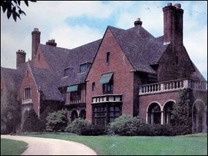 The Mather estate at 30027 East River Rd. in Perrysburg Township was a 43-room brick mansion when it was torn down in 1985. It was replaced by Waterford Beside the River.
