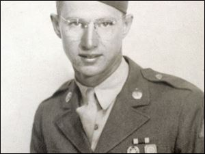 Frank Basler was a tank driver during World War II.