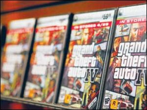 Grand Theft Auto IV video game