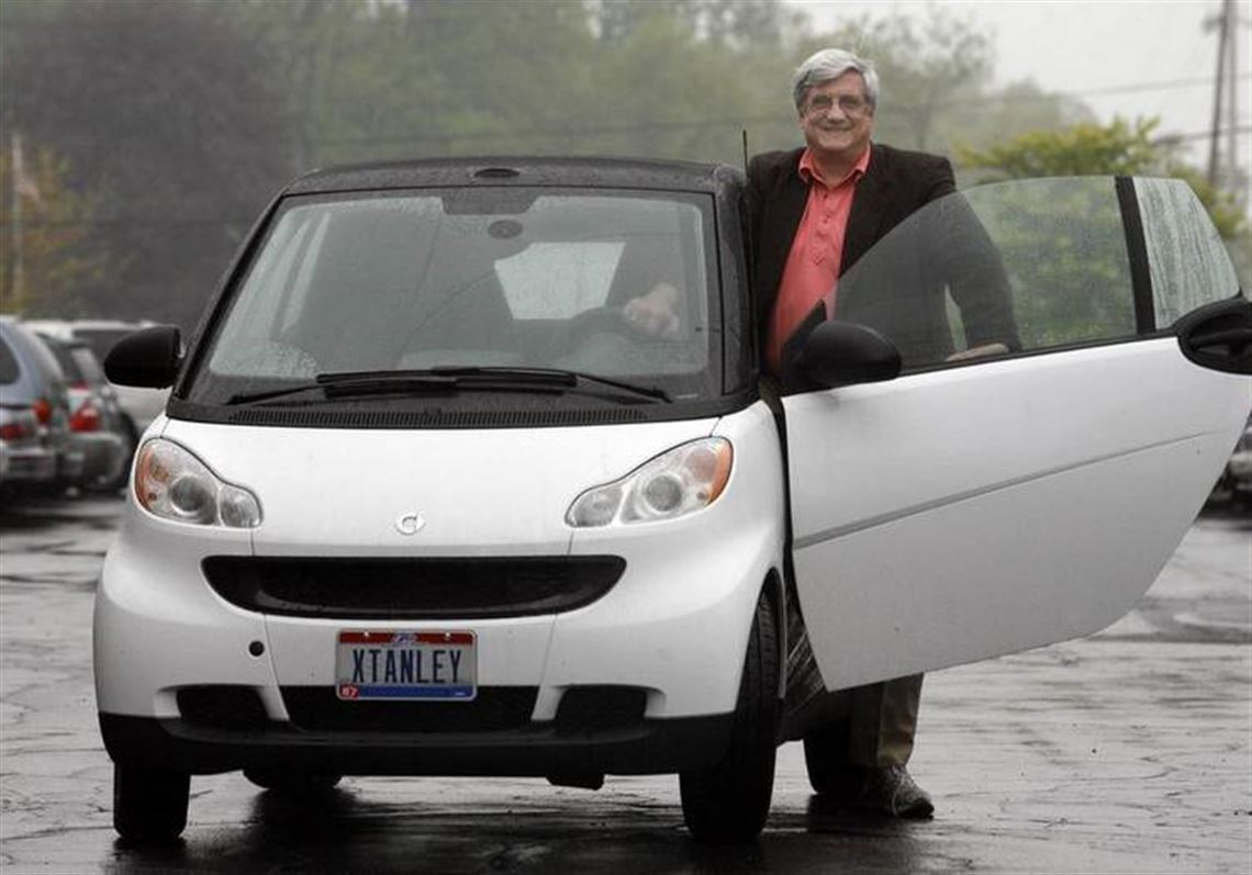 Stan Rubini Helps Keep Down The Cost Of Driving With His Smartfortwo An Import That