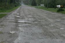 Rauch-worst-paved-road-in-line-for-work