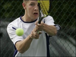 Waite senior Jeff Brown didn t even start playing tennis until he was a freshman. He finished runner-up at No. 1 singles in the City League and had a 15-2 regular-seasonrecord.