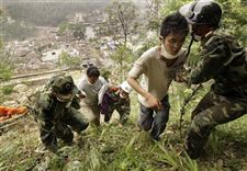 Thousands-flee-China-quake-area-over-flood-fears