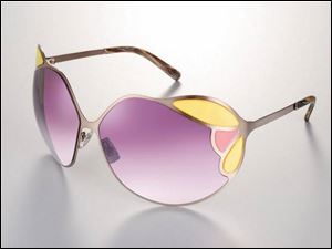 Miu Miu's purple shades for women.