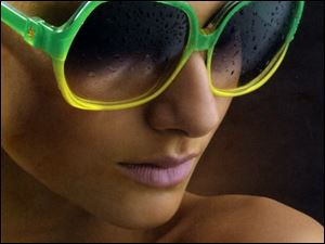 Sunglasses from Victoria Beckham's collection.