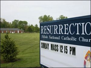 A Dedication Mass for Resurrection Polish National Catholic Church in Temperance will be May 31.