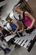 Marching-band-at-Clay-twirls-to-tune-of-high-school-s-tradition-2