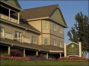 Carlisle Inn at Walnut Creek was remodeled two years ago.
