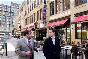 Joseph Marinucci talks with Josh Taylor about downtown Cleveland.