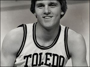 University of Toledo Hall of Famer Tim Selgo (1976-1980) holds the school's career free throw shooting mark of 83.9 percent.