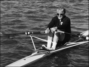 Anderton L. Bentley, Jr., was the Toledo Rowing Club s oldest member and one of its most decorated. He won gold medals at last year s national and world masters championships.