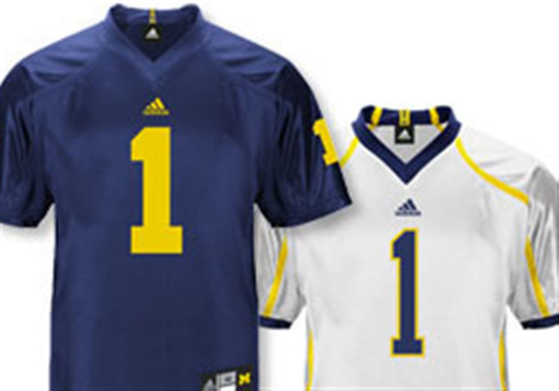 low priced 9d9fe 9ad9c Brand new football jerseys yield $60M to Michigan | Toledo Blade