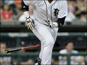 The Tigers  Carlos Guillen has 8 home runs, 47 RBIs, and has scored 45 runs.
