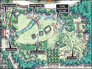Toledo Botanical Garden plans to undertake improvements in its new master plan in phases