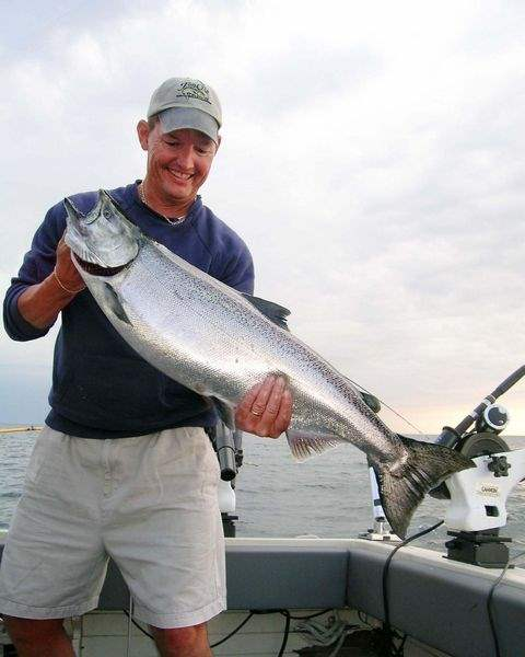 Conditions-A-OK-for-big-ones-salmon-steelies-in-Lake-Ontario-can-wear-out-best-of-arms