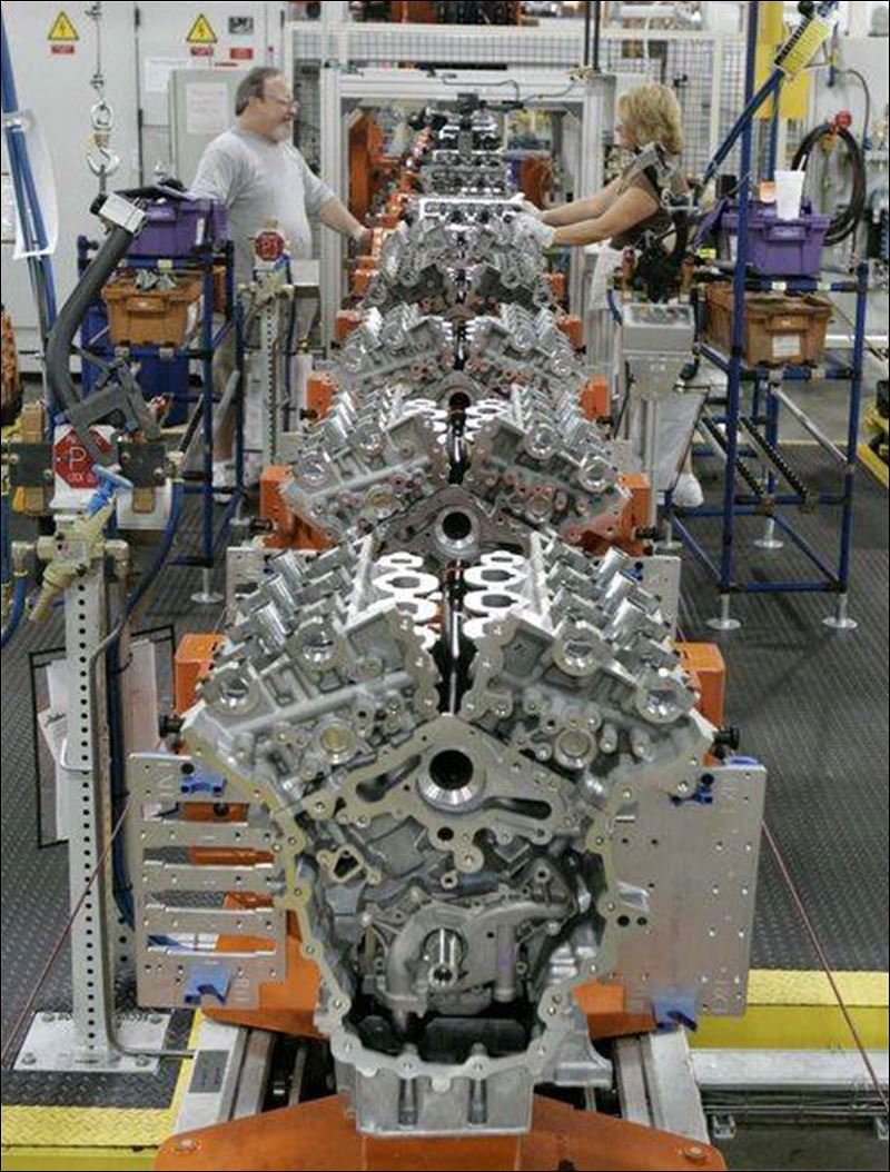 Ford lima engine plant employment for Ford motor company lima ohio