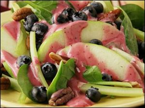 Blueberry Waldorf Salad.