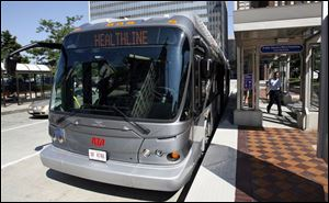 Greater Cleveland Regional Transit Authority s new bus is considered part train.