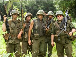 From left: Jay Baruchel,