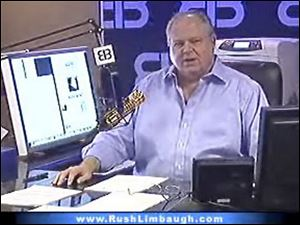 "<b>Rush Limbaugh</b> sure does say <a href="" http://rawstory.com/news/2008/Limbaugh_Edwards_affair_because_wife_wouldnt_0814.html"" target= ""_blank ""><font color=blue><b>some controversial things</font color=blue></b></a> that make it really easy for guys like <b>Keith Olbermann</b> to  <a href="" http://www.youtube.com/watch?v=53Ef739Vlkg"" target=""_blank ""><font color=blue><b>let him have it. </font color=blue></b></a>"