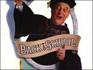'Back to School' with Rodney Dangerfield is this week's Thin Slices weekend DVD pick