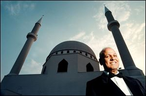 Imam A.M. Khattab was photographed at the Islamic Center of Greater Toledo in 1998. He died in 2001.