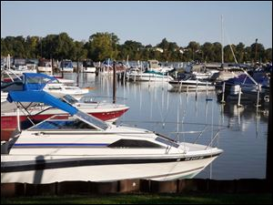 Boaters who dock at the Rossford Marina will be a lot less likely to scrape bottom during the boating season next year.