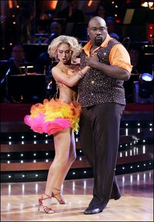Warren Sapp and Kym Johnson also grace the <a href=