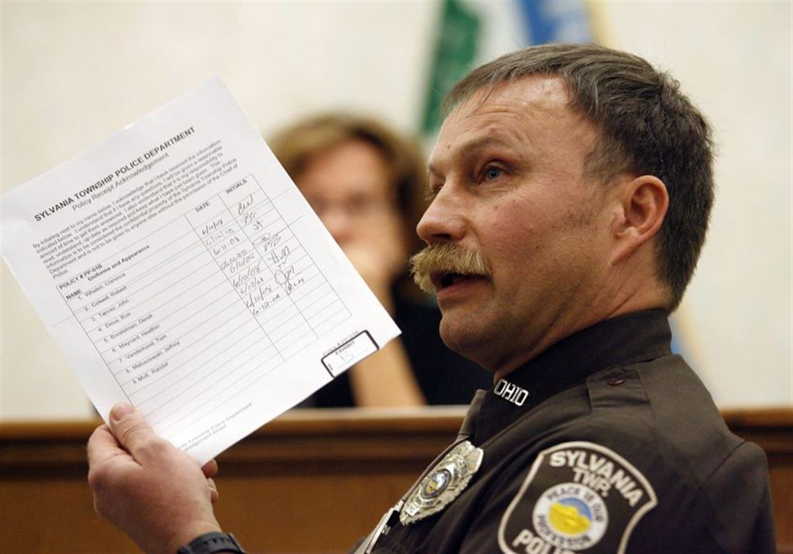 Sylvania Township officer suspended, within a whisker of termination