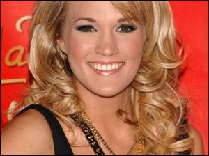 Carrie Underwood doesn't like to be asked who she voted for and she won't be asking you either.