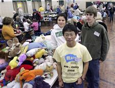 RUMMAGING-THROUGH-ITEMS-TO-BENEFIT-EXCHANGE-PROGRAM