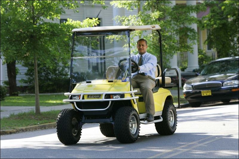 Gasoline Costs Drive Up Use Of Golf Carts Toledo Blade