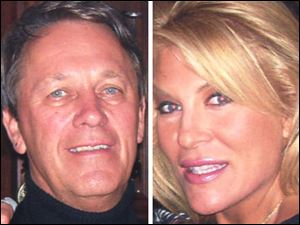 Medical Mutual CEO Kent W. Clapp and his fiancee, Tracy Turner, were killed in a crash in Puerto Rico's rain forest.
